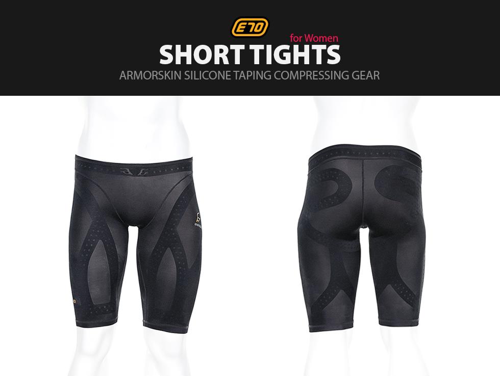 e70 short tights - woman