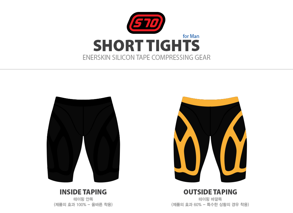 s70 short tights